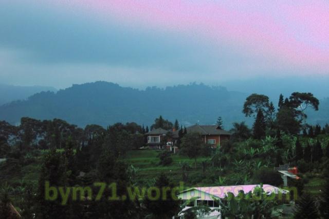 Villa Pasah Asi lantai 3, melihat view gunung nan indah